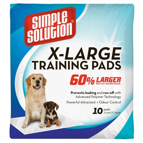 Simple Solutions Extra Large Training Pads - 71 X 76 Cms