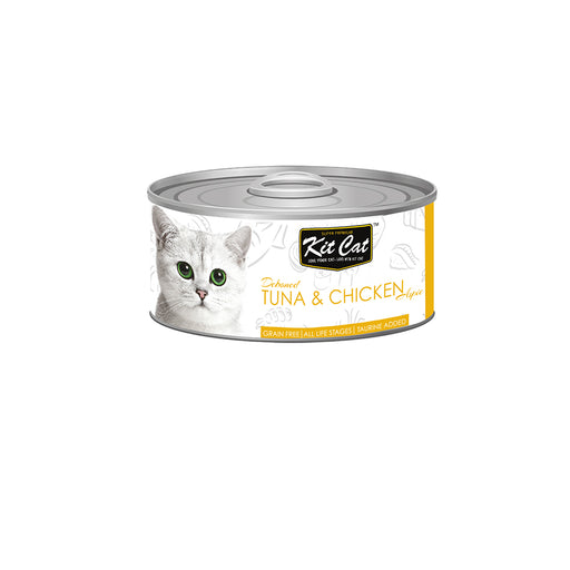 Kit-Cat Tin- Tuna & Chicken
