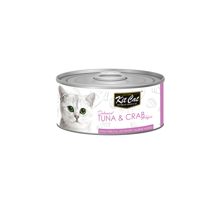 Kit-Cat Tin-Tuna & Crab