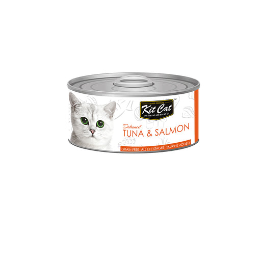 Kit-Cat Tin-Tuna & Salmon