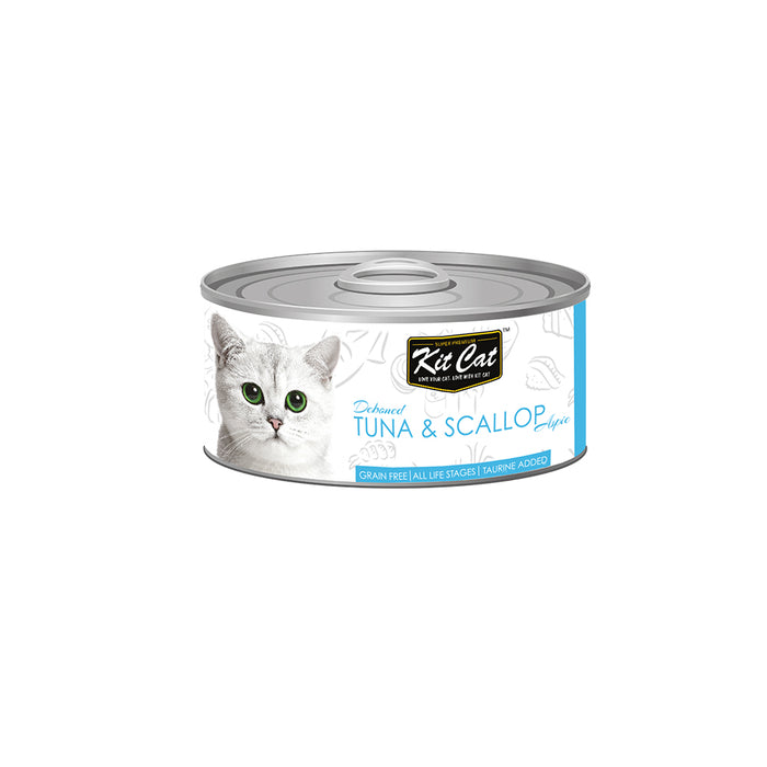 Kit-Cat Tin-Tuna & Scallop