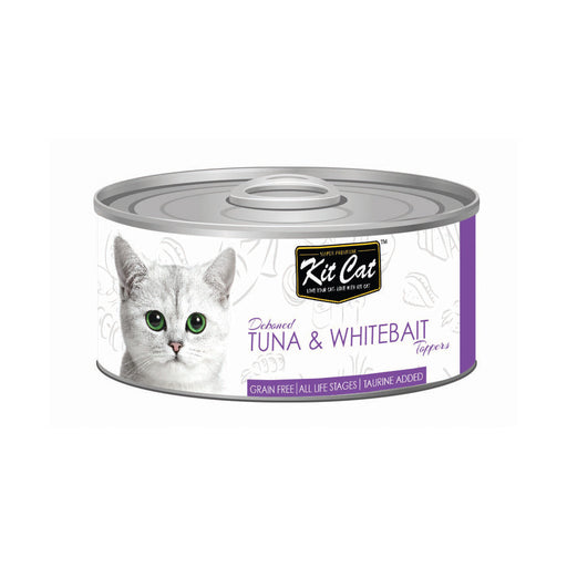 Kit-Cat Tin-Tuna & Whitebait Toppers