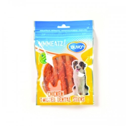 Duvo Meats Chicken Twisted Dental Sticks