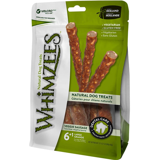 Whimzees Veggie Sausage Large 7Pcs