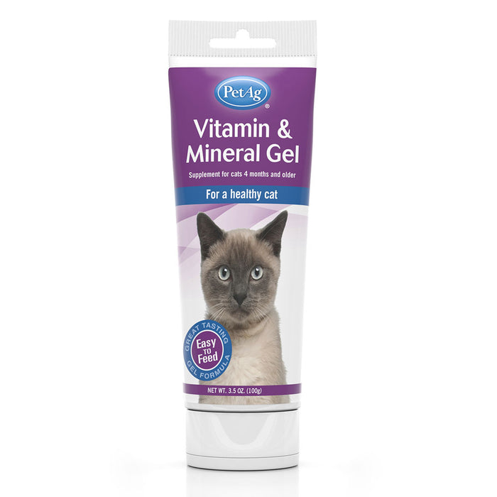 Pet AG Vitamin & Mineral Gel For Cats