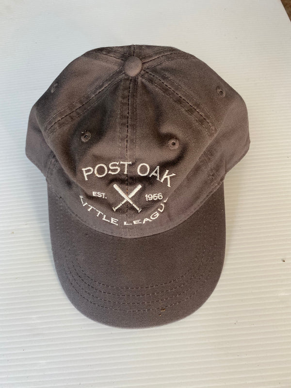 POLL Grey Cotton Hat