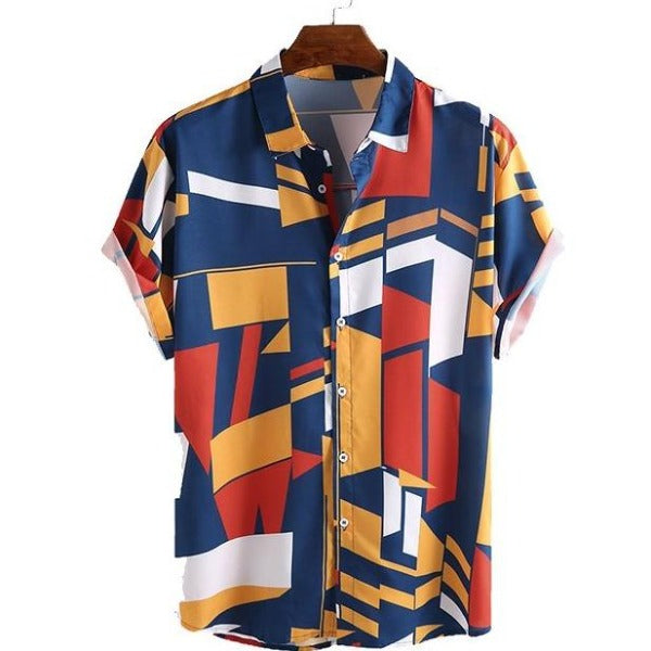 Geometric Colors Shirt