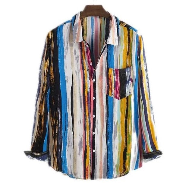 Artsy Color Full Sleeve Shirt