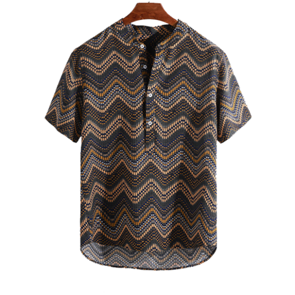 Printed Chevron Shirt