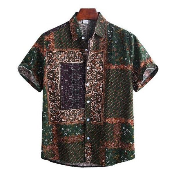 Floral Patterns Vintage Shirt