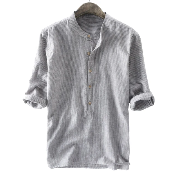 Casual Buttons Henley Shirt