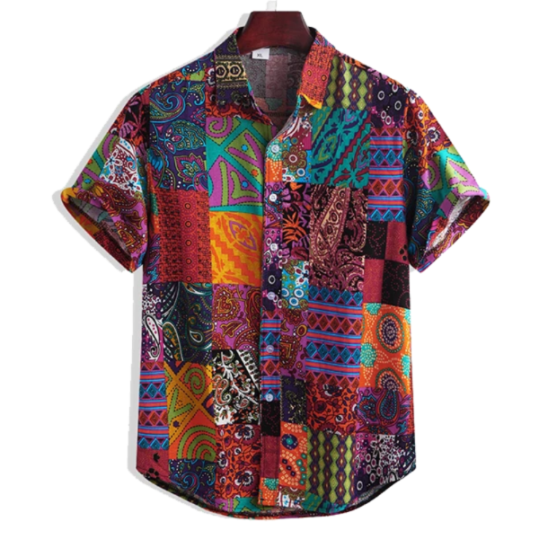 Ethnic Floral Shirt