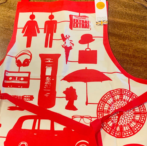 London Icons Apron by Victoria Eggs