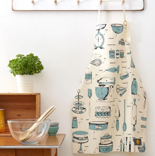 Baking Delights Apron by Victoria Eggs