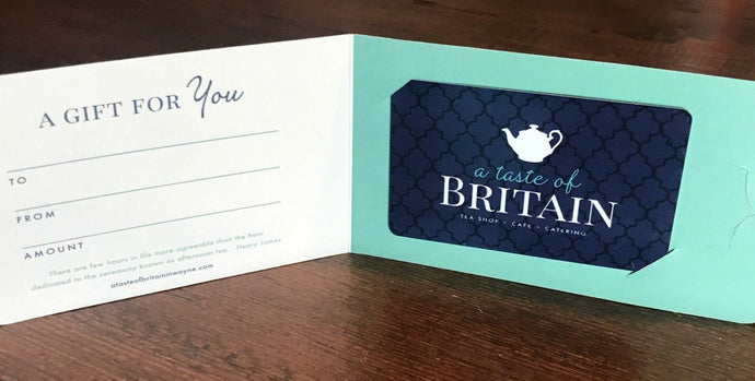 A Taste of Britain Gift Card