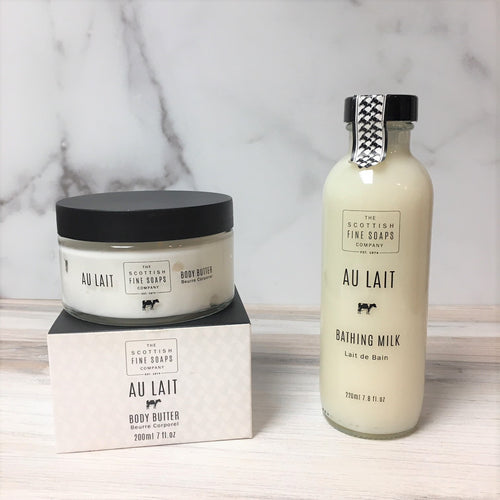 Au Lait Spa Gift Set