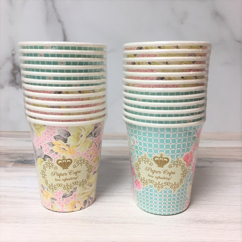 Talking Tables Floral Paper Cups