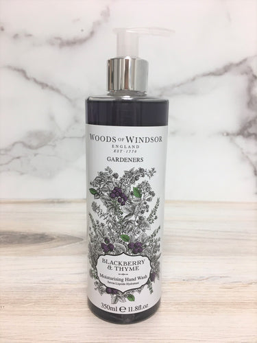 Woods of Windsor Blackberry & Thyme Moisturising Hand Wash