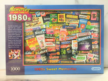 Load image into Gallery viewer, Gibsons 1980s Sweet Memories Puzzle