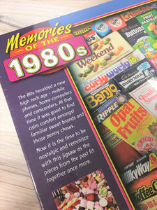 Gibsons 1980s Sweet Memories Puzzle