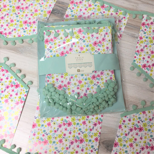Talking Tables Floral Bunting