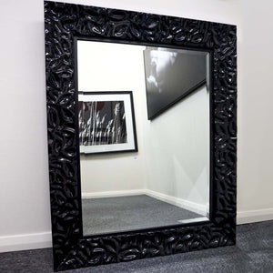 SR Black hi-gloss luxury Mirror