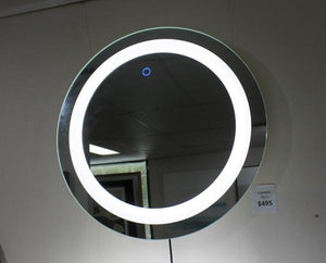 SR London round mirror LED light