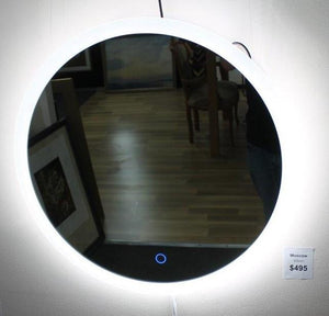 SR Moscow round mirror LED light