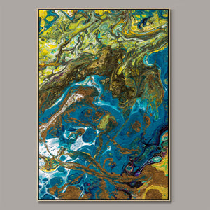 Abstract nature Framed Canvas
