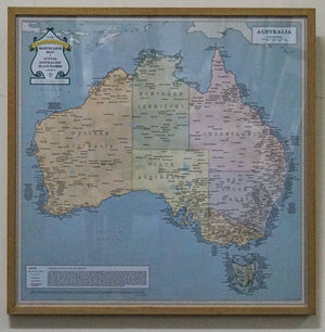 Fun map of Australia