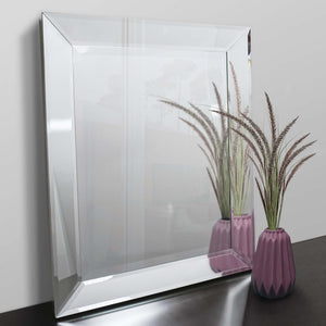 Art Deco Mirror with modern mirror edge