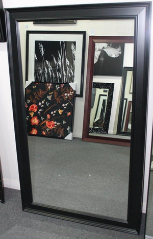 black modern wall Mirror