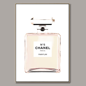 Chanel No.5 Framed Canvas