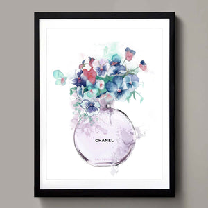 Chanel No.5 flowers