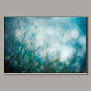 Jade foliage Framed Canvas