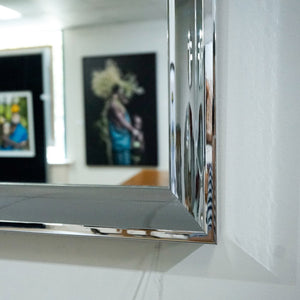 Wall Mirror in Silver Chrome frame