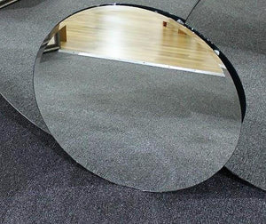 SR Round Bevelled frameless mirror -small
