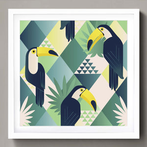 Jungle toucans