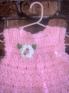 All Crochet Dress