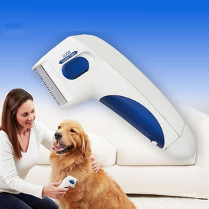 Z7 Portable Household Pet Carding Device Electric Flea Cleaning Comb Pet Dog, Cat External Insect Repeller