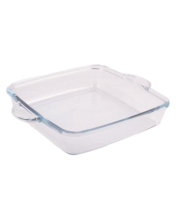 Pasabahce Borcam Square Tray With Handles