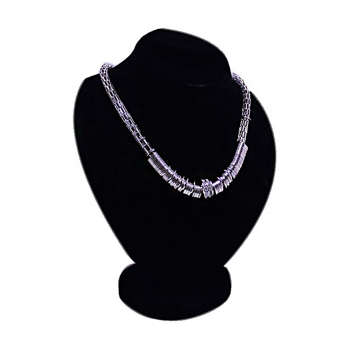 Silver Spring Style Necklace for Women - Silver