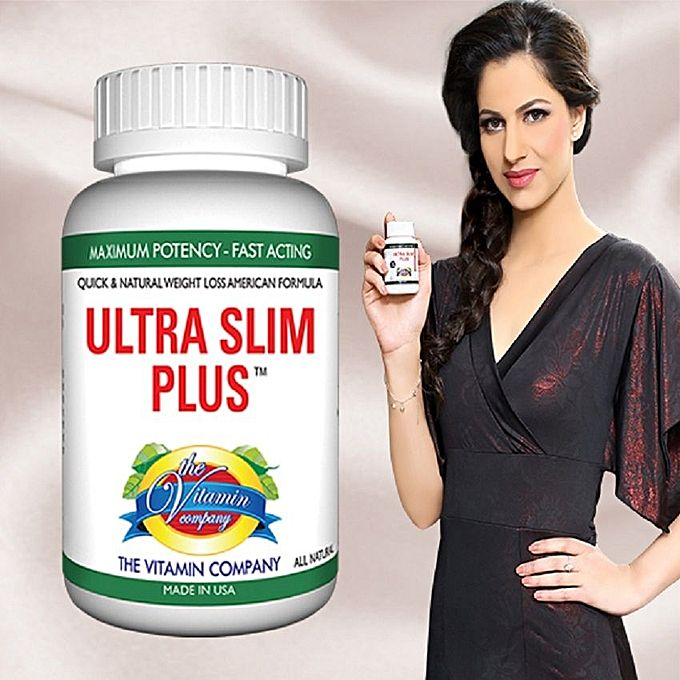 The Vitamin Company ULTRA SLIM PLUS Economy - Natural American Weight Loss Supplement - 45 Tablets