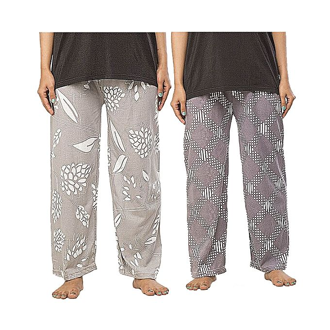 Pack of 2 Printed Pajamas For Women