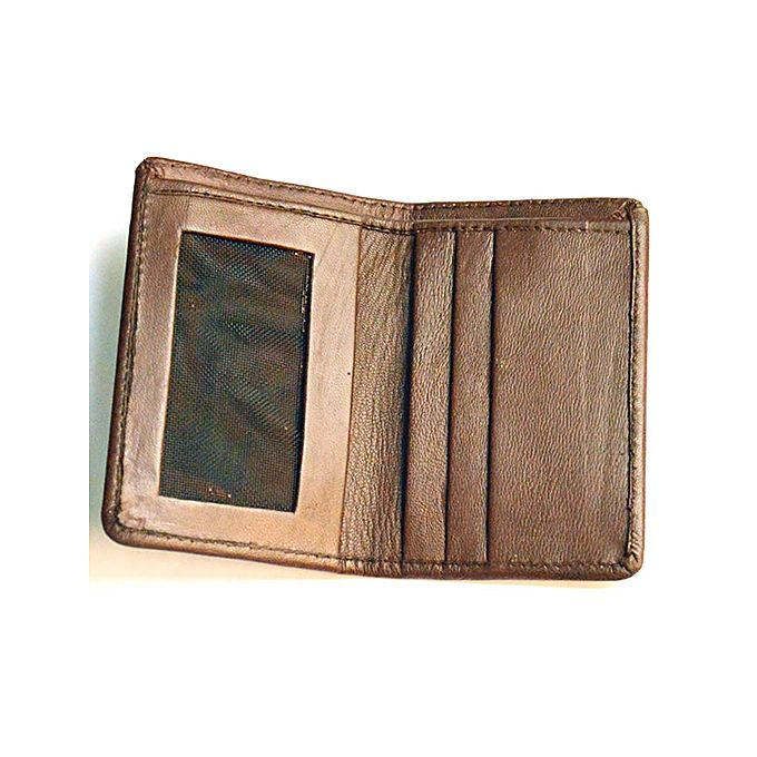Card Holder Wallet - Dark Brown