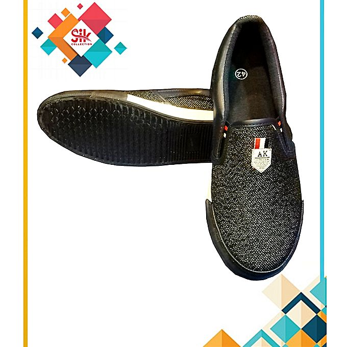 SIK Collection Black Stylish Designs Shoes For Men
