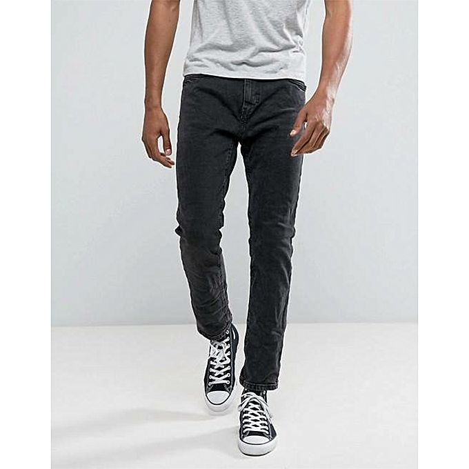 Black Denim Pants For Men