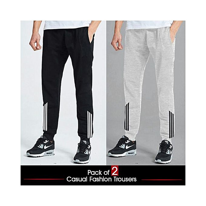 Pack Of 2 Jogger Trousers For Men