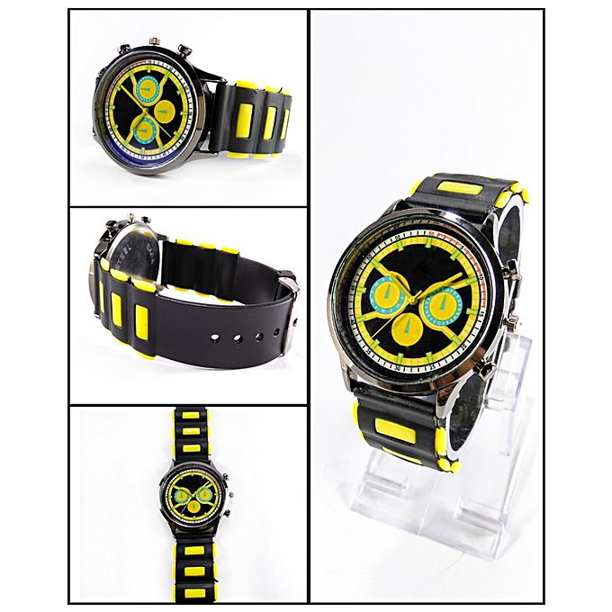 Black Sport Watch For Men