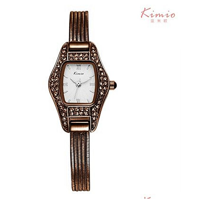 Kimio KC Kimio Bracelet Watch For Women - Brown